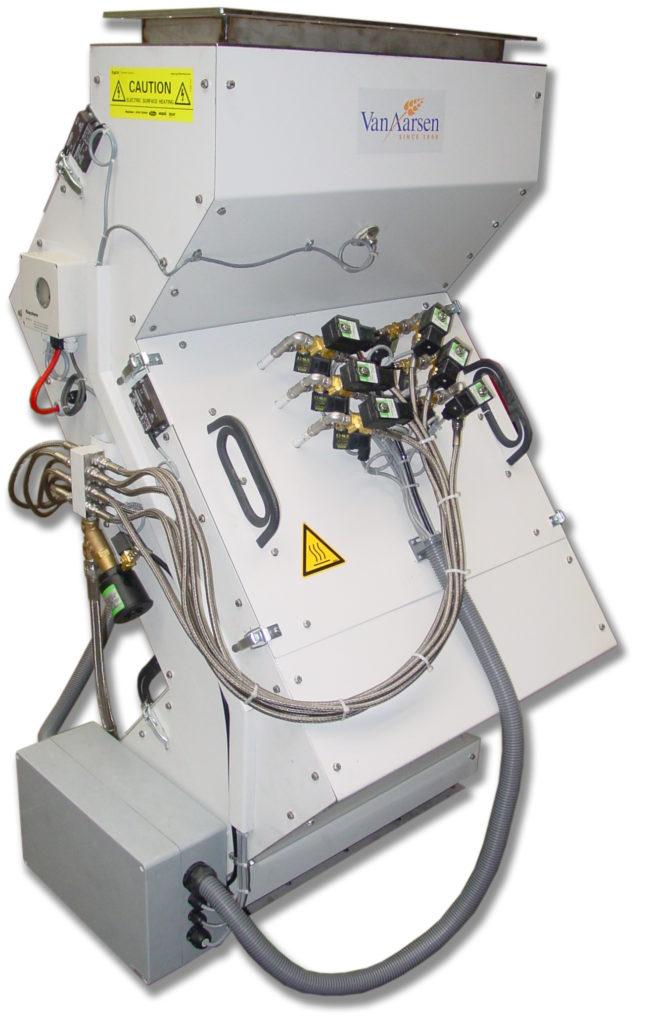 Système d'enrobage liquide cascade