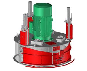 SETER vertical hammer mill
