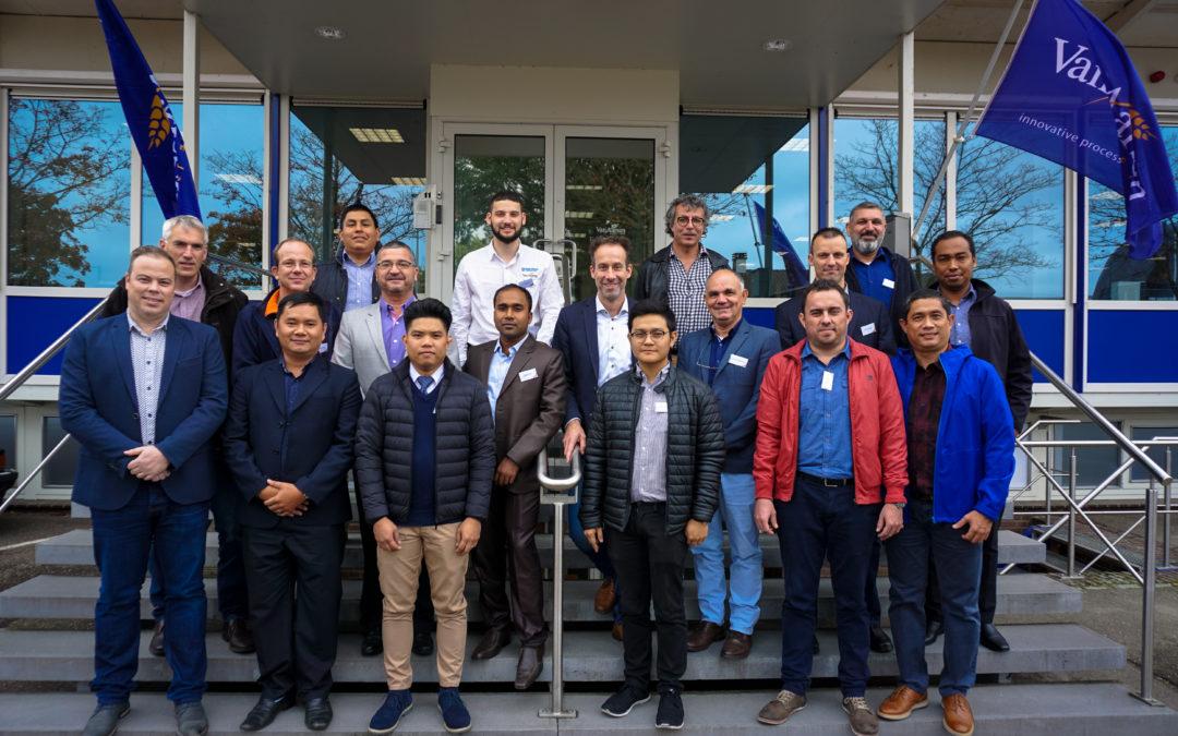 Training Van Aarsen sales representatives